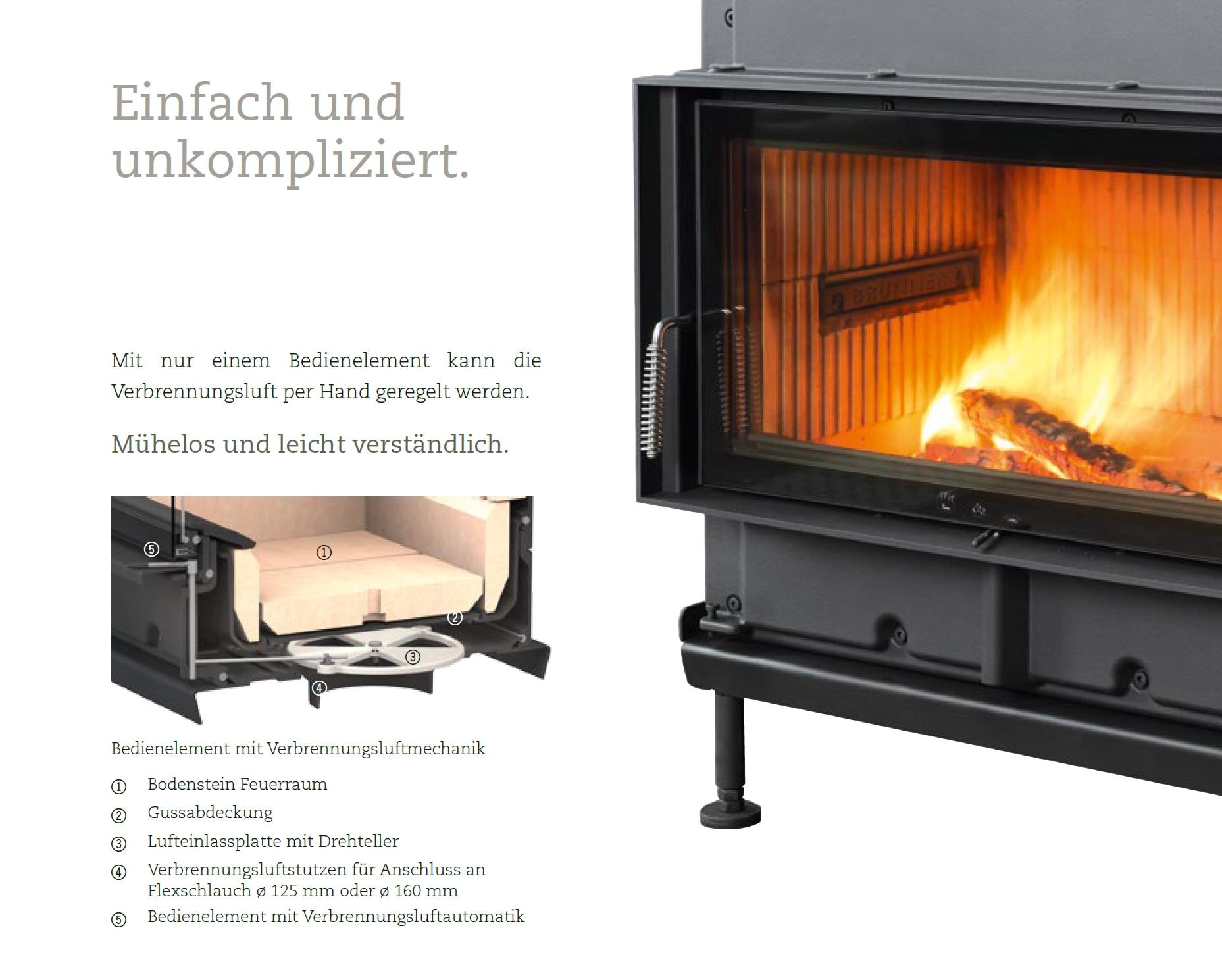 Brunner HKD Mit Luftsteuerung