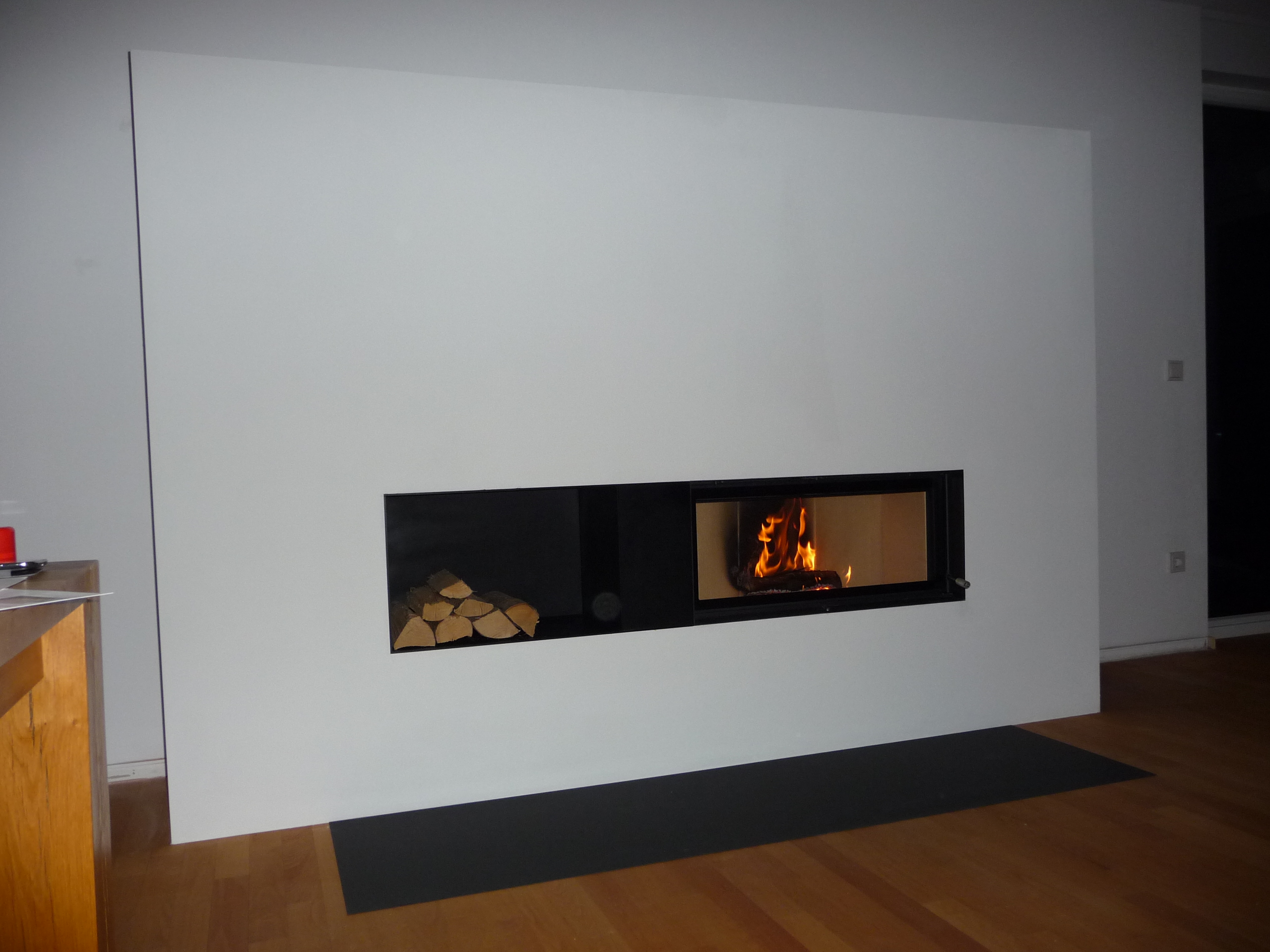 brunner architekturkamin 38 86 kamineinsatz. Black Bedroom Furniture Sets. Home Design Ideas