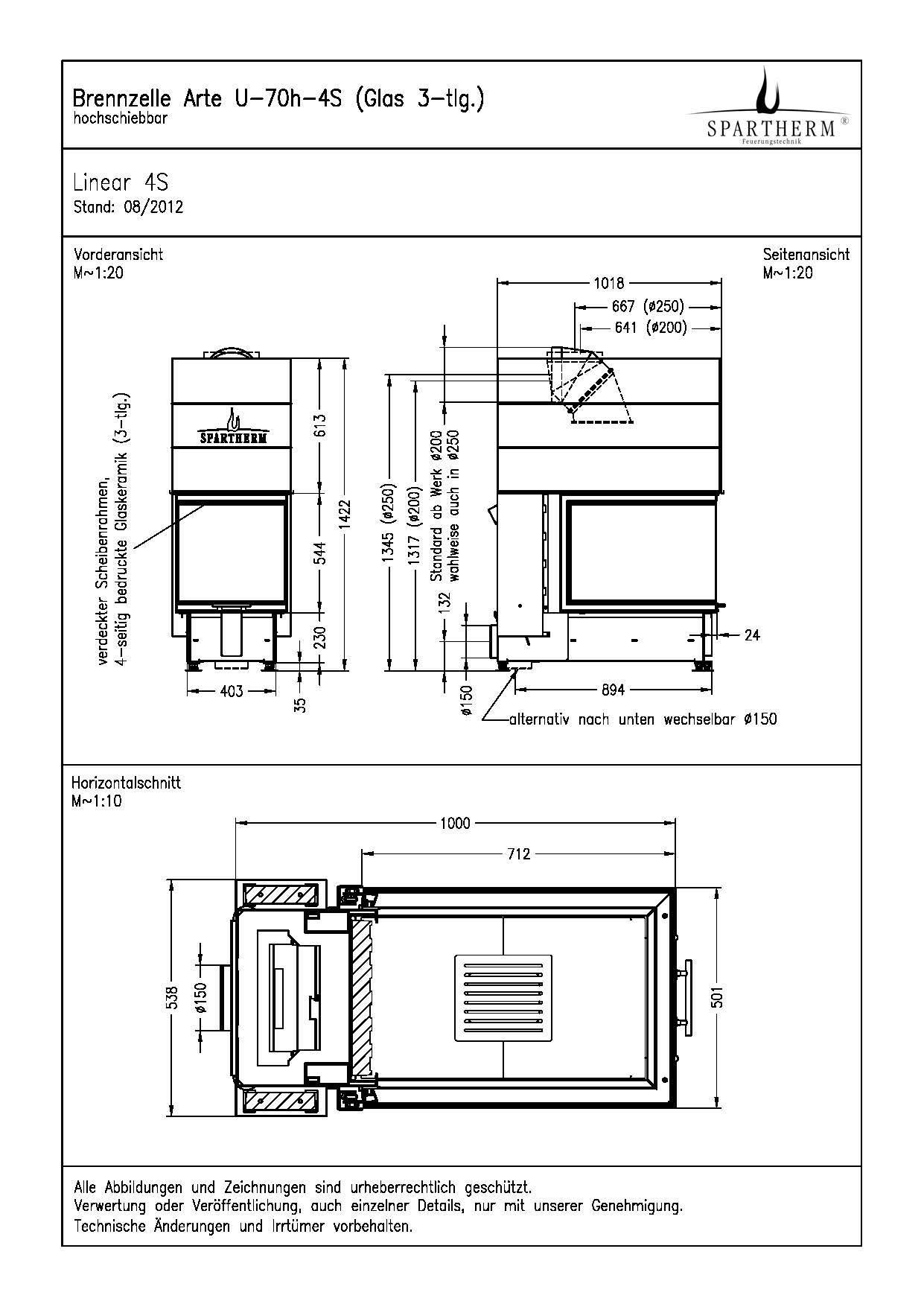 panoramakamin v spartherm brennzelle hotline 7 21 uhr. Black Bedroom Furniture Sets. Home Design Ideas