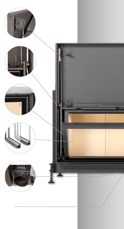 kamin beidseitig glas ofen kaminofen holzofen kachelofen kamin ufulvia forno libertyu pergamena. Black Bedroom Furniture Sets. Home Design Ideas