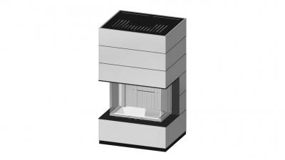 mit spartherm einen kamin selber bauen arte 3rl 80. Black Bedroom Furniture Sets. Home Design Ideas