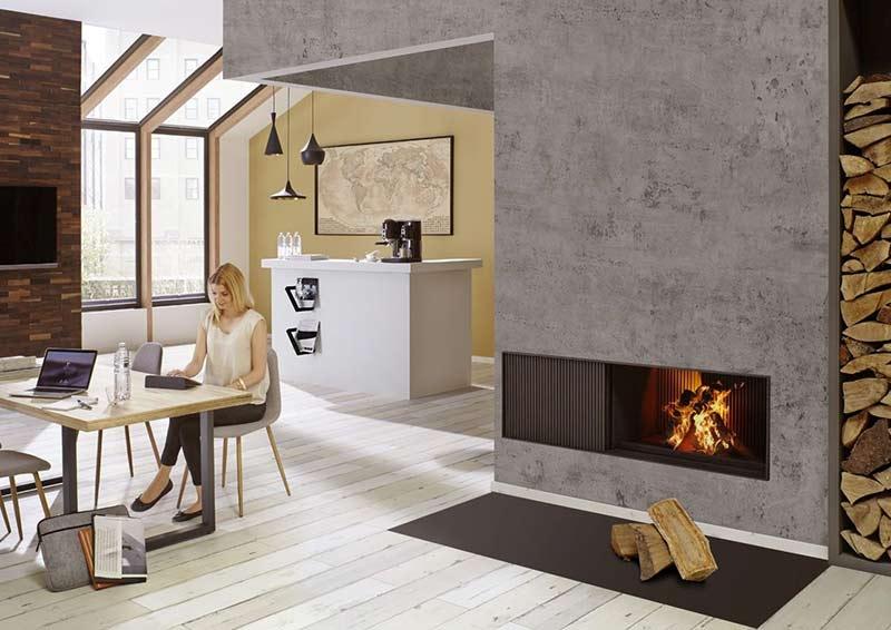 ein offener kamin der bunner urfeuer kamin hotline 7. Black Bedroom Furniture Sets. Home Design Ideas